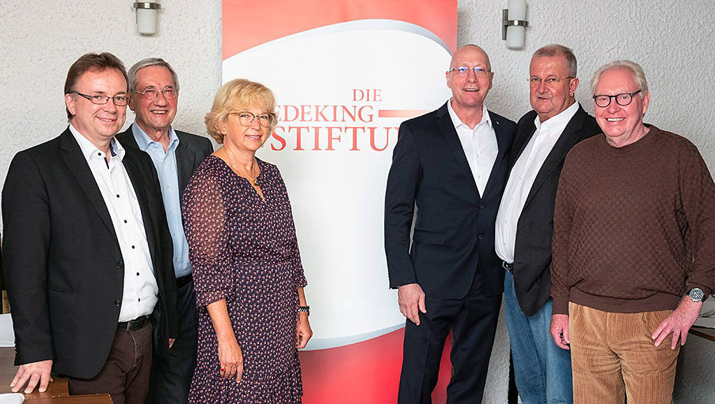 Der Vorstand der Wiedeking Stiftung